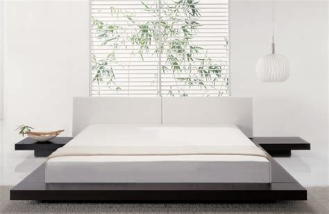 modern style furniture features of the bedroom interior in the modern style