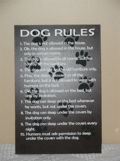 welcome to my house rules dog welcome to my house dog rules sign