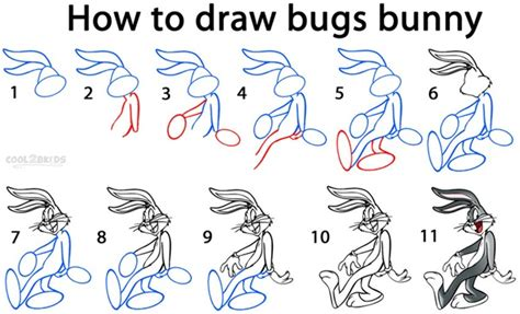 let s draw bunnies 35 step by step bunny drawings books how to draw characters step by step 30 exles