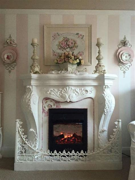 fireplaces mantles and shabby on