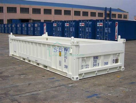 40 Open Side Shipping Container Price by Sea Freight Container Open Side Open Top Bulk Platform