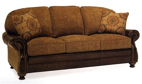 Leather And Material Sofas Thesofa Leather With Fabric Sofas