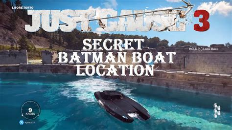 boats just cause 3 just cause 3 secret batman boat location corvette car boat