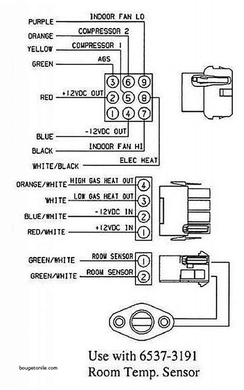 coleman mach thermostat to furnace wiring diagram wiring