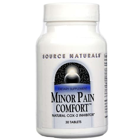 comfort source evitamins com source naturals minor pain comfort 30 tabs