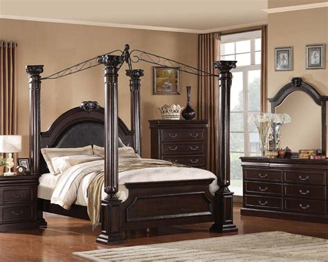 roman bedroom furniture acme bedroom set roman empire ii ac21340set