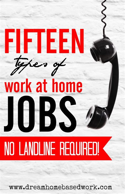 I Want To Work From Home Online No Scams - 15 types of work from home jobs no landline required