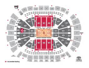 3d Seats Toyota Center Houston Rockets Vs Minnesota Timberwolves Houston