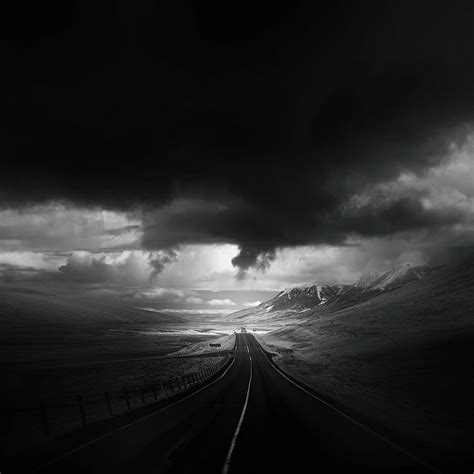 Landscape Photography Roads Photographer Captures Roads In Desolate Landscapes Around