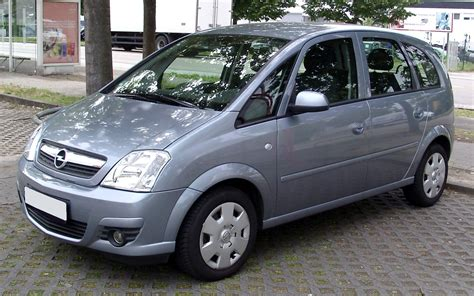 opel meriva 2008 2008 opel meriva photos informations articles