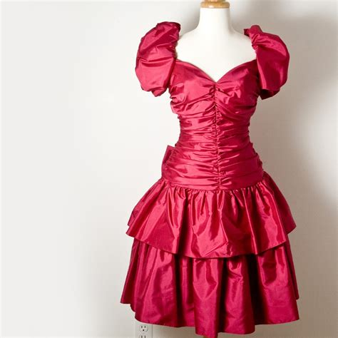 The 80s Is Back In Dress Form by Perfectly Poofy Vintage 80s Prom Dress By Talynvintage On Etsy