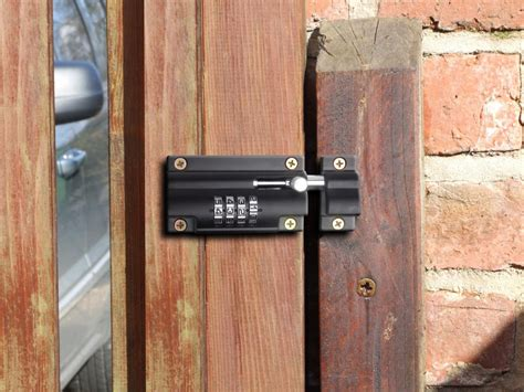 Shed Lock Types by Sterling Combination Code Lock Sliding Door Bolt For Gates