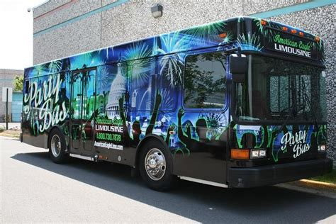 themed party bus 133 best images about bus branding on pinterest vinyls