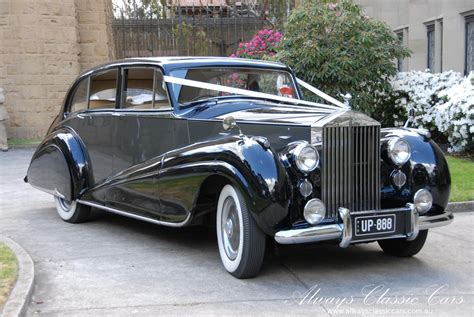 Wedding Cars Vintage Melbourne by Always Classic Cars Chauffeured Wedding Cars Limousines