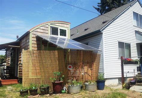 the lilypad tiny house in portland features two loft