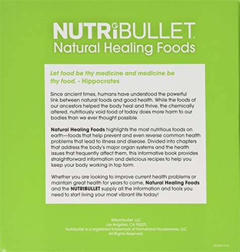 nutribullet healing foods supercharge your health in just seconds a day 898078001872