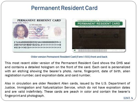 permanent resident card template i 551 form hoss roshana co