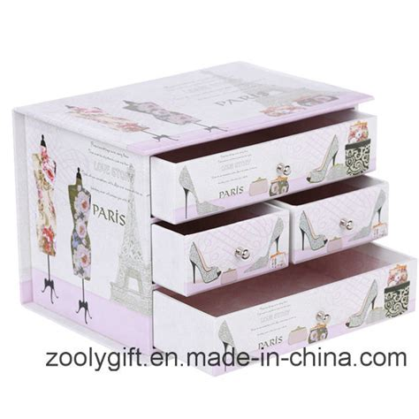 How To Make Paper Drawers - china decorative printing cardboard paper drawer storage