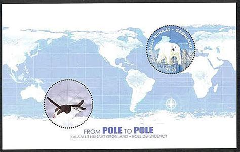 Grennland From Pole To Pole 2014 Souvenir Sheet news