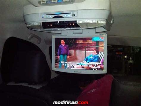 Tv Plafon Mobil Freed Baru Monitor Tv Roof Plafon Mobil