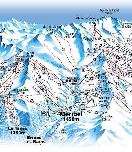 brides les bains ski brides les bains skiing holidays ski brides les