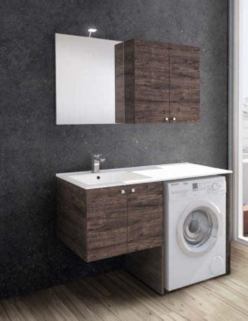 mobile bagno con portalavatrice lavatrice sotto lavandino rm81 regardsdefemmes mobile