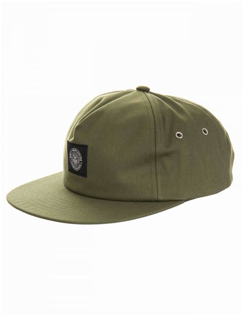 Snapback Green Army Snapback obey clothing trencher snapback hat army green obey
