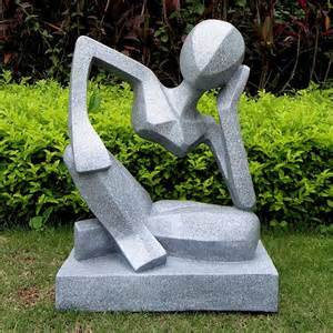 reflection garden sculpture abstract modern sculptures