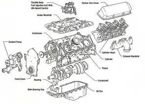 v8 exploded view mdh motors