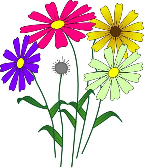 Flower Garden Clipart Flower Clip Collection Of 150