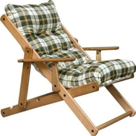 poltrone cuscino poltrona relax sedia sdraio harmony in legno reclinabile