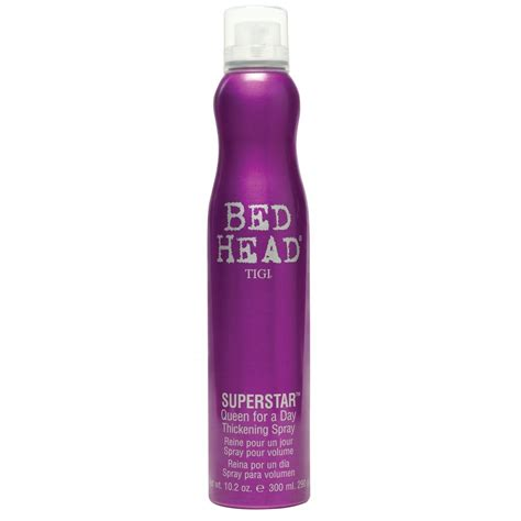bed head hair gel tigi bed head superstar queen for a day
