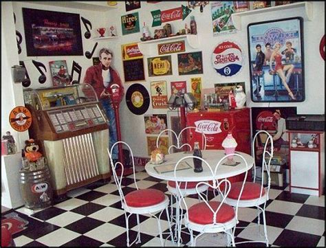 retro decorations for home 60 s diner mancave 50s diner decorating ideas 50s diner