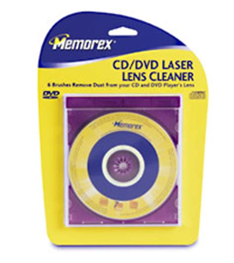 Memorex Laser Lens Cleaner For Dvd computer dust solutions store cleaning supplies