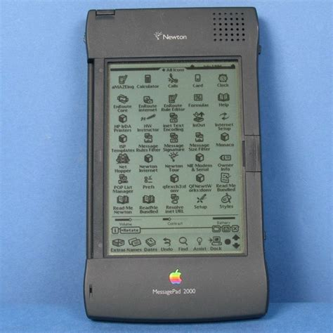 apple newton apple newton messagepad 2100 mp2100 with box keyboard and