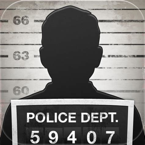 the gallery for gt mugshot sign template
