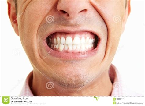 showing teeth showing the teeth royalty free stock photography image 10338717