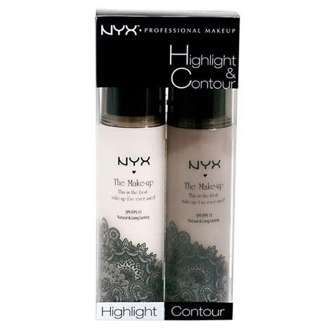 Promo Contour Kit Highlight Palette nyx cosmetics highlight and contour set beautylish