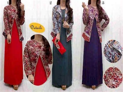 Dres Batik Motif Songket Memilih Baju Dress Songket Modern Murah