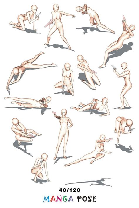Anime Poses by 1000 Images About How To Draw On How To