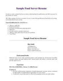 Example Server Resume Professional Restaurant Server Resume Resume Exampl