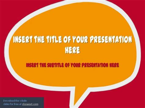 Speech Bubbles Powerpoint Template Authorstream Speech Powerpoint Template