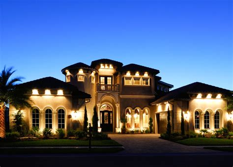 Tulsa Home Builders Floor Plans by Christopher Burton Luxury Homes Mediterranean Exterior