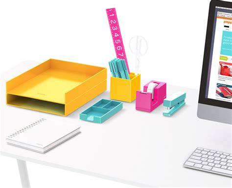 colorful office supplies 100 colorful desk accessories diy wall organizer