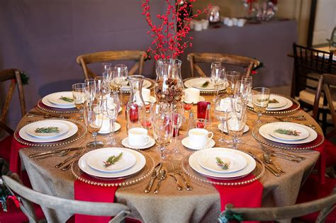 prem table xmas 2013 holiday table inspiration part two encore events rentals
