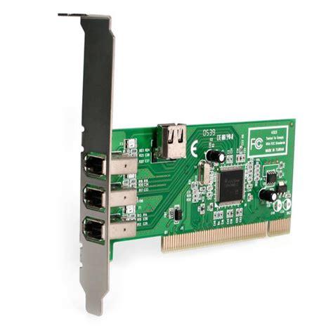 porta ieee 1394 scheda firewire pci 4 porte pci firewire 1394a 1