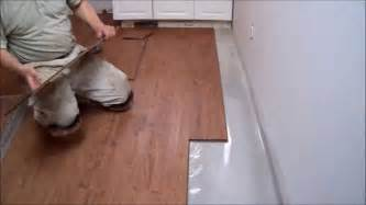 Installing Vinyl Plank Flooring On Concrete Kitchen Flooring Installation Home Design Ideas