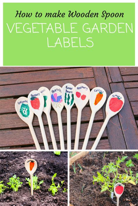 Growing Our First Vegetable Garden Creative Garden Ideas Vegetable Garden Labels