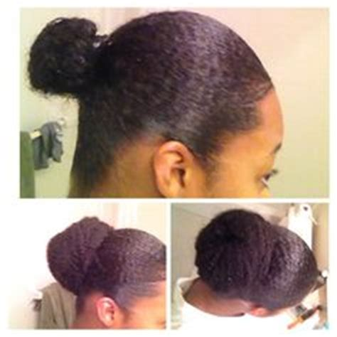 easy marley braid high bun natural hair tutorial youtube protective styling high bun with kanekalon weave fake it