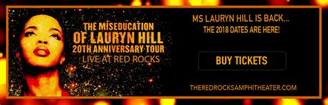 lauryn hill red rocks lauryn hill tickets 26th september red rock hitheatre